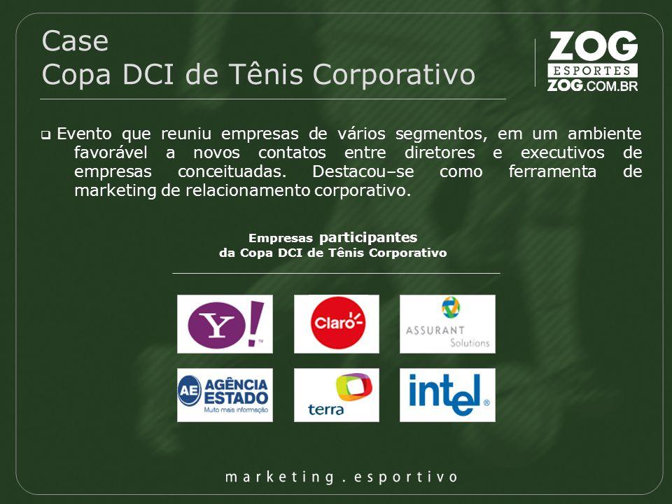 Empresas participantes da Copa DCI de Tênis Corporativo