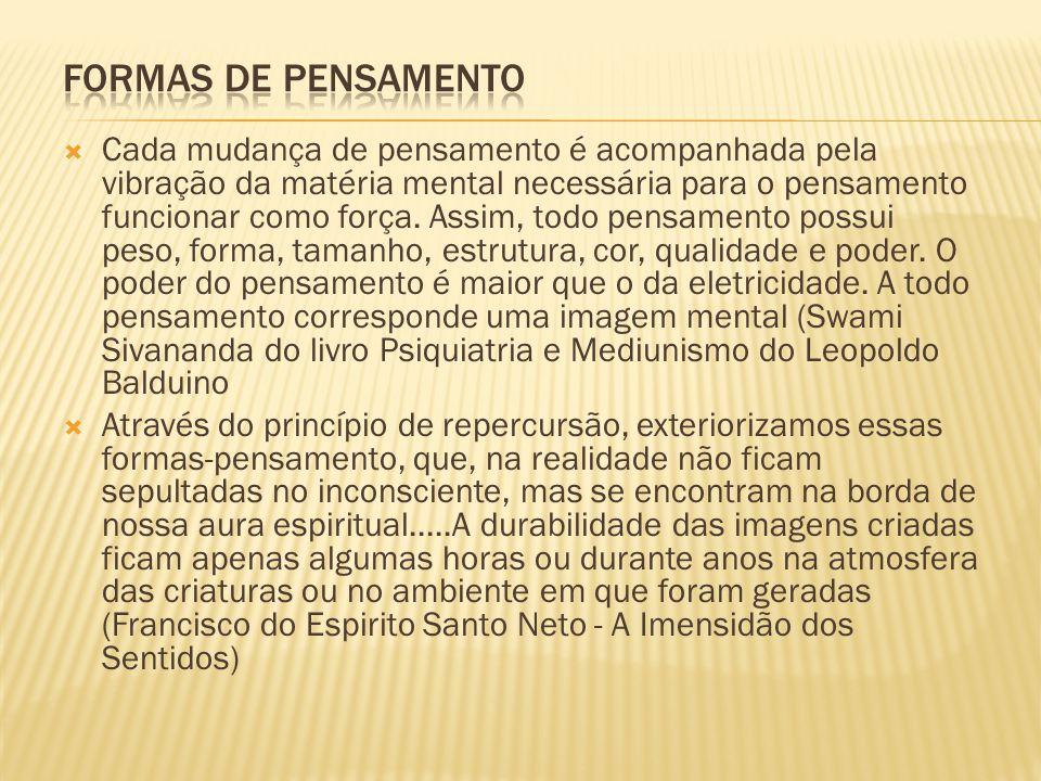 FORMAS DE PENSAMENTO