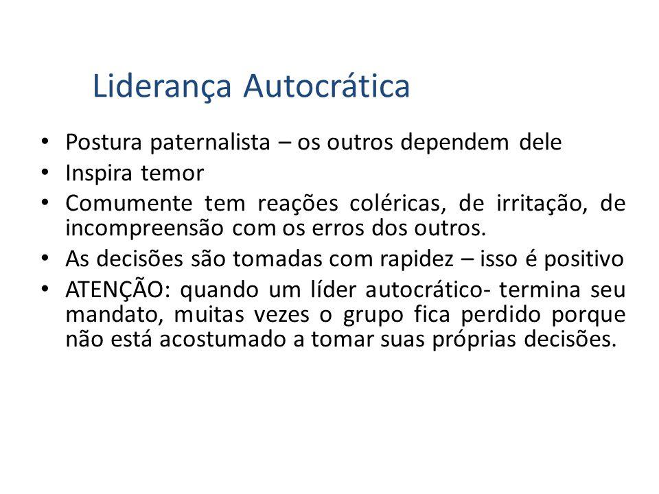 Liderança Autocrática