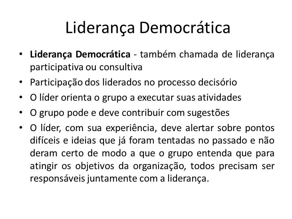Liderança Democrática