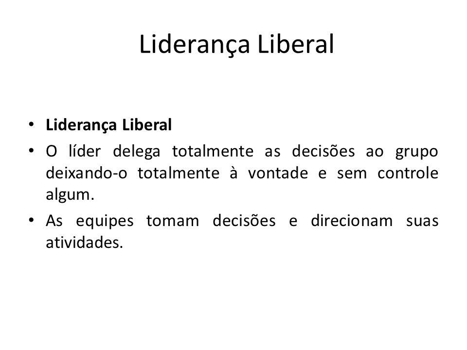 Liderança Liberal Liderança Liberal