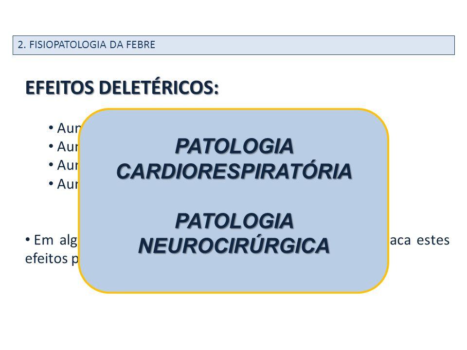 PATOLOGIA CARDIORESPIRATÓRIA PATOLOGIA NEUROCIRÚRGICA