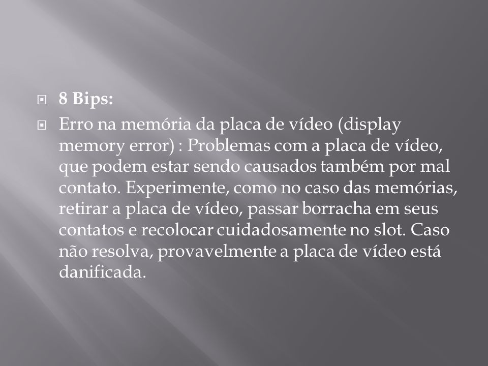 8 Bips: