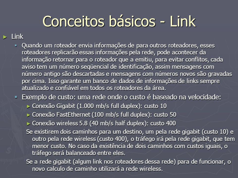 Conceitos básicos - Link