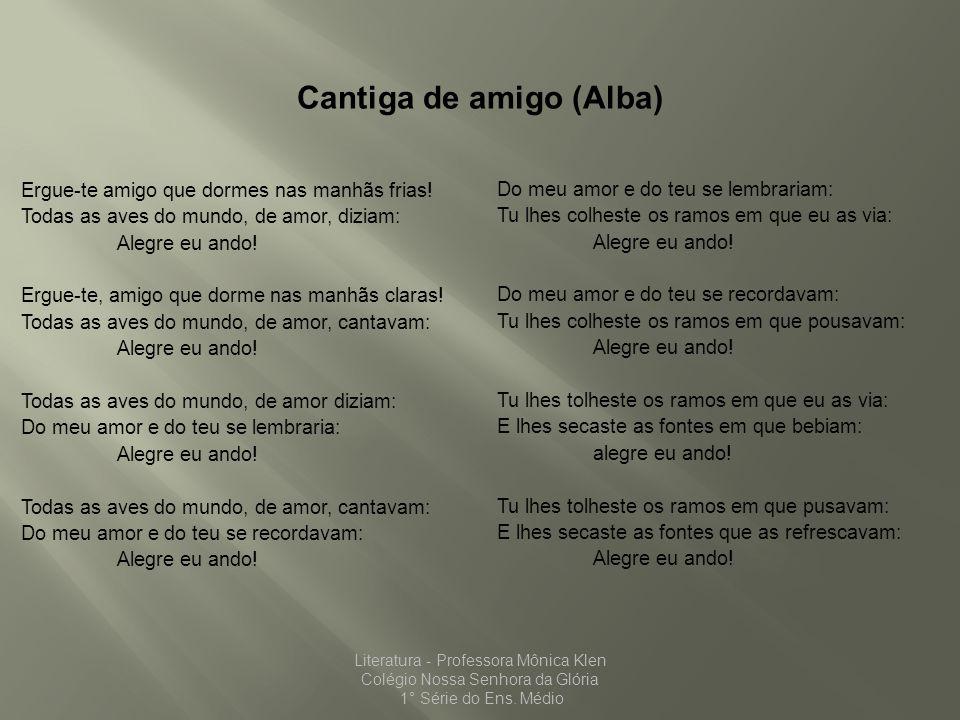 Cantiga de amigo (Alba)