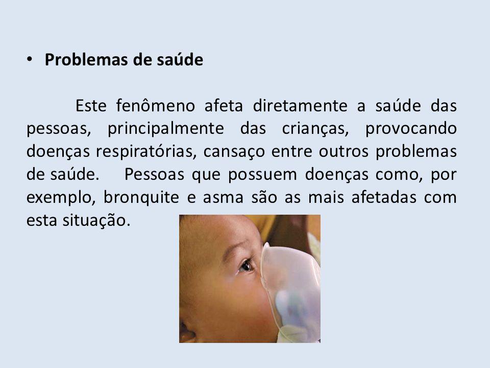 Problemas de saúde