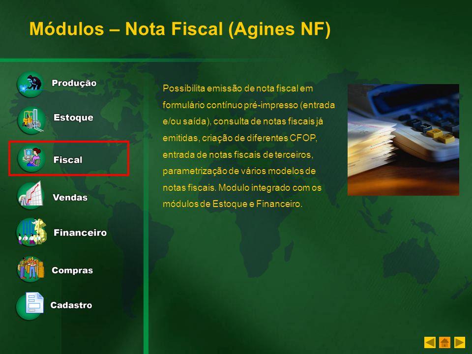 Módulos – Nota Fiscal (Agines NF)