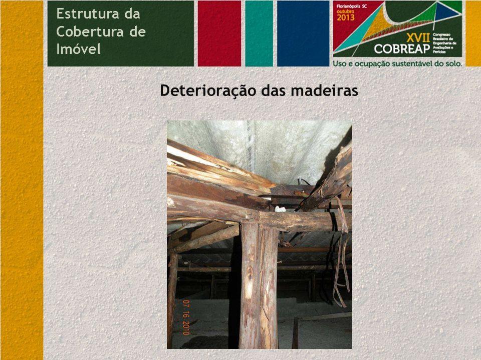 Deterioração das madeiras