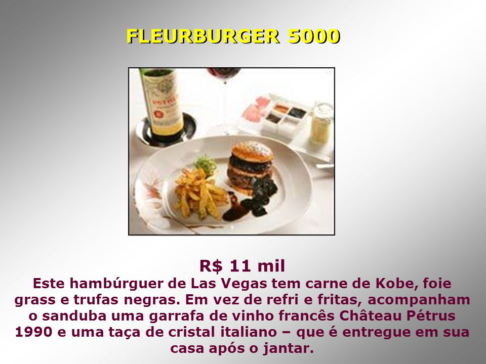 FLEURBURGER 5000