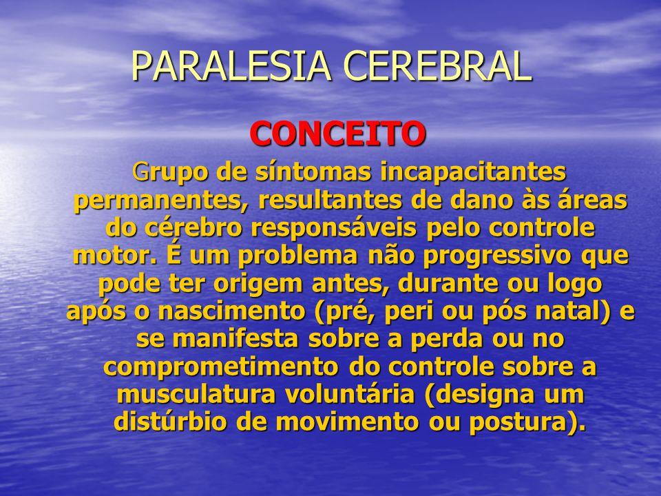 PARALESIA CEREBRAL CONCEITO
