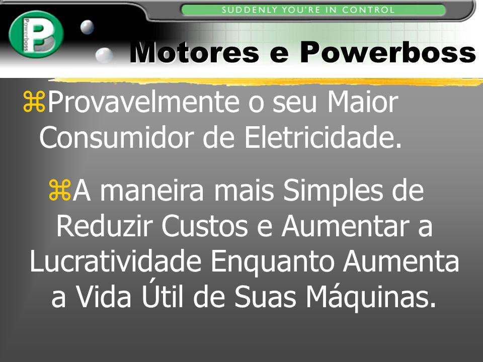 Motores e Powerboss Provavelmente o seu Maior Consumidor de Eletricidade.
