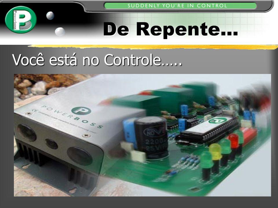 De Repente... Você está no Controle…..