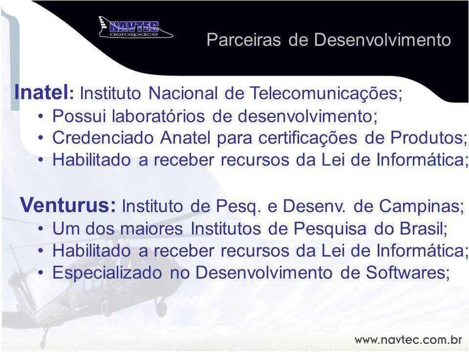 Inatel: Instituto Nacional de Telecomunicações;