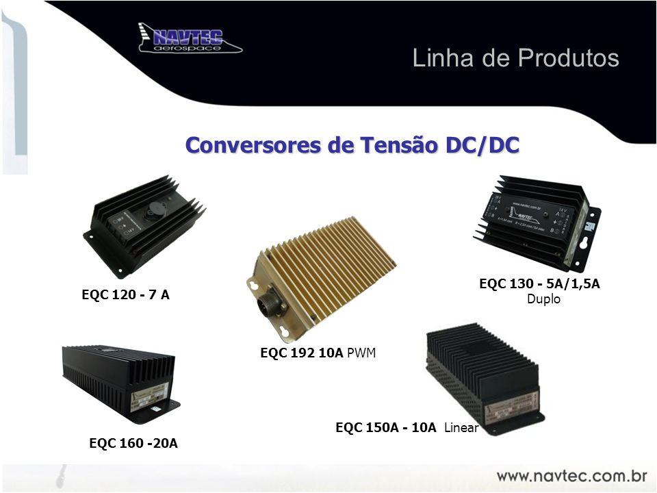 Linha de Produtos Conversores de Tensão DC/DC EQC 192 10A PWM