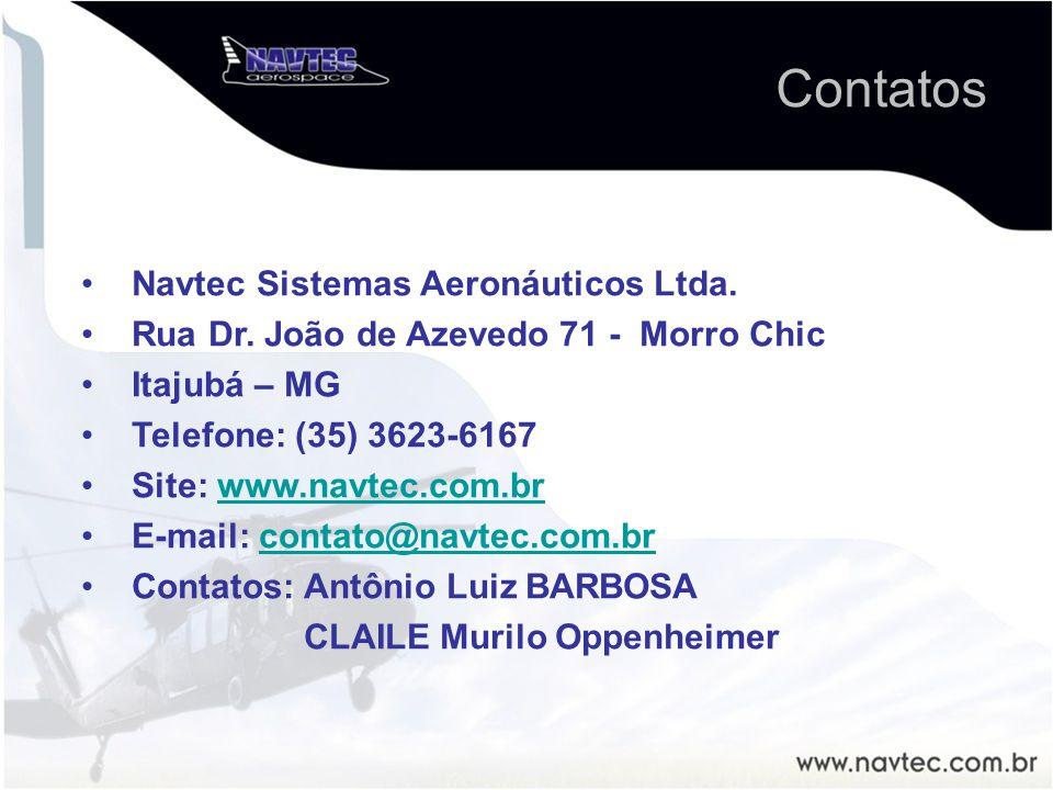 Contatos Navtec Sistemas Aeronáuticos Ltda.