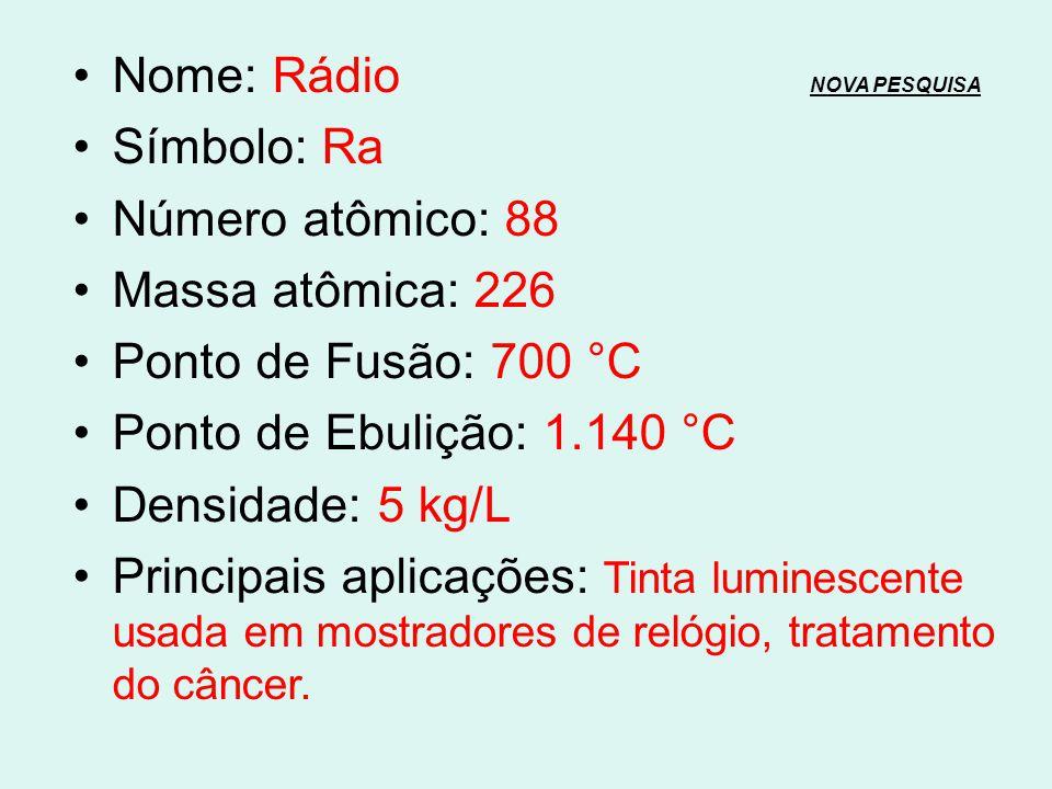 Nome: Rádio NOVA PESQUISA