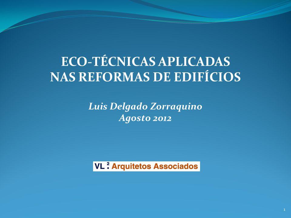 NAS REFORMAS DE EDIFÍCIOS Luis Delgado Zorraquino