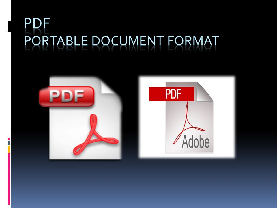 PDF PORTABLE Document Format
