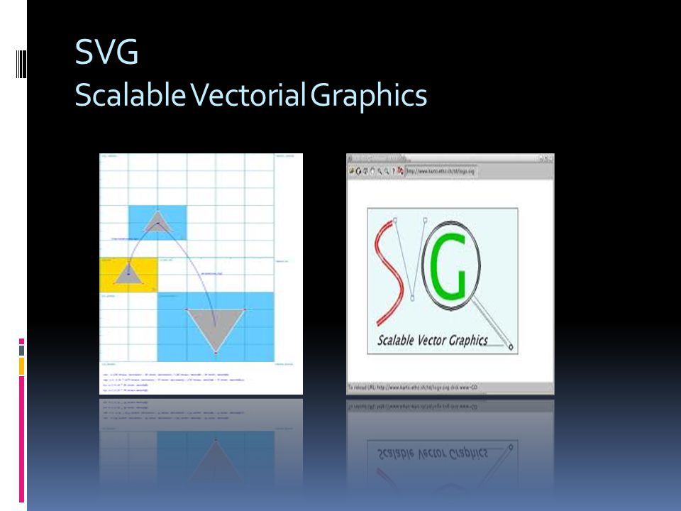SVG Scalable Vectorial Graphics