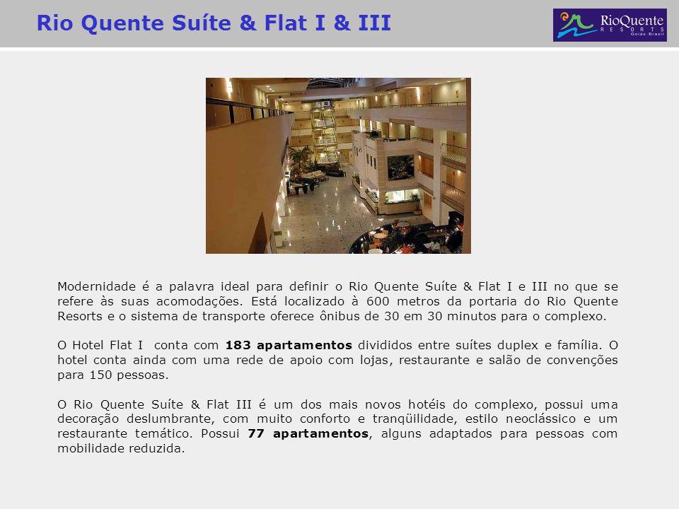Rio Quente Suíte & Flat I & III