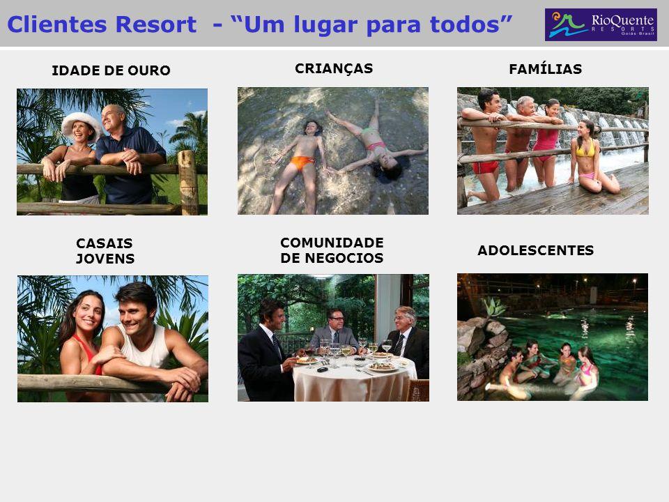 Clientes Resort - Um lugar para todos