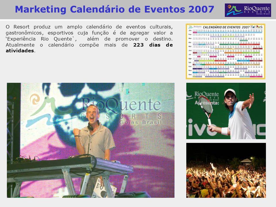 Marketing Calendário de Eventos 2007
