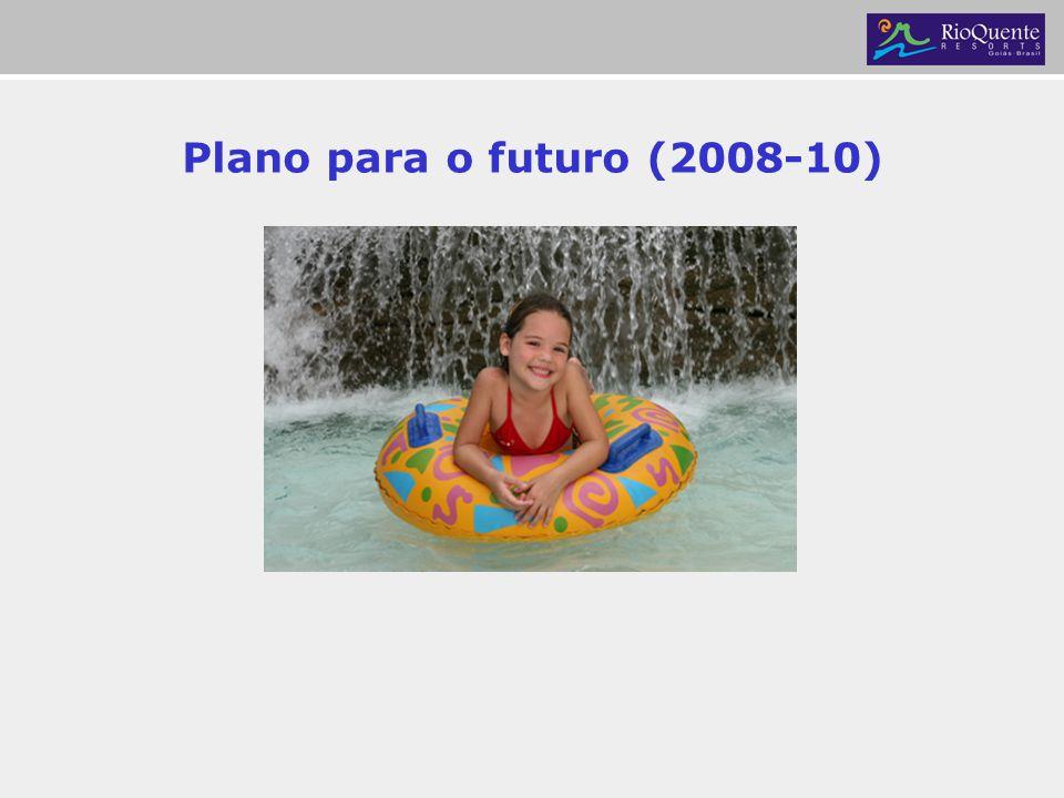 Plano para o futuro (2008-10)