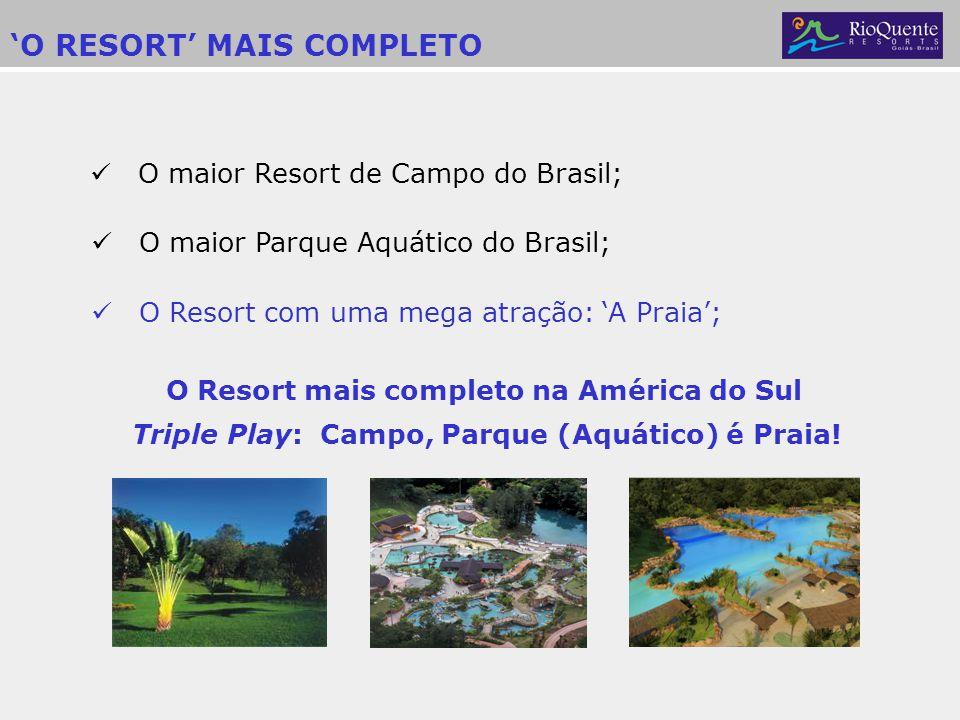 Triple Play: Campo, Parque (Aquático) é Praia!