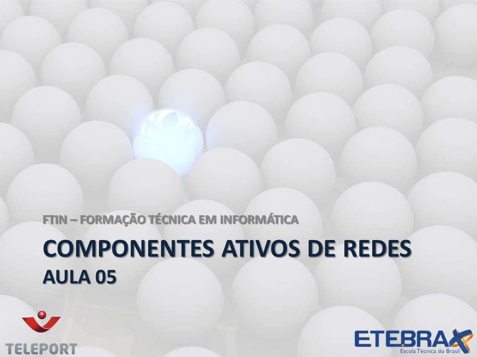 COMPONENTES ATIVOS DE REDES aula 05