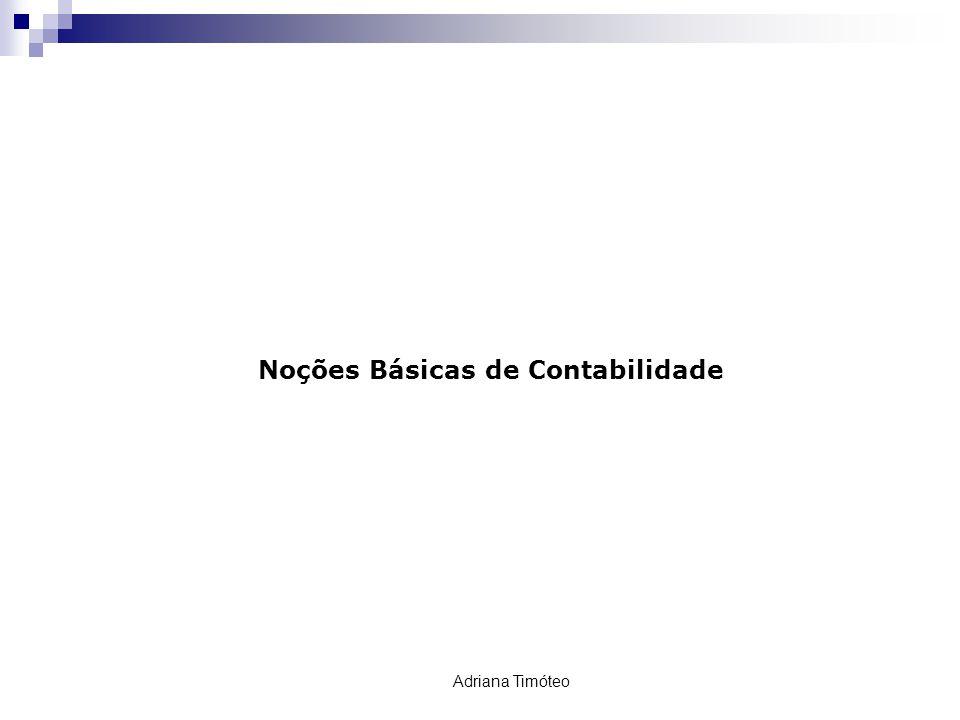 Noções Básicas de Contabilidade