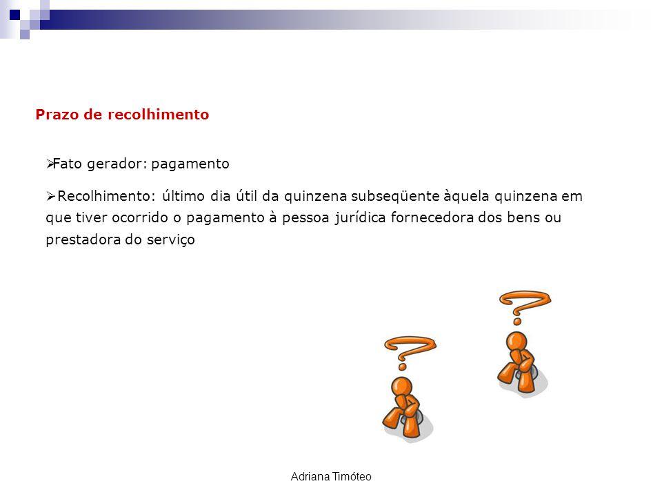 Retenção PIS / COFINS / CSLL