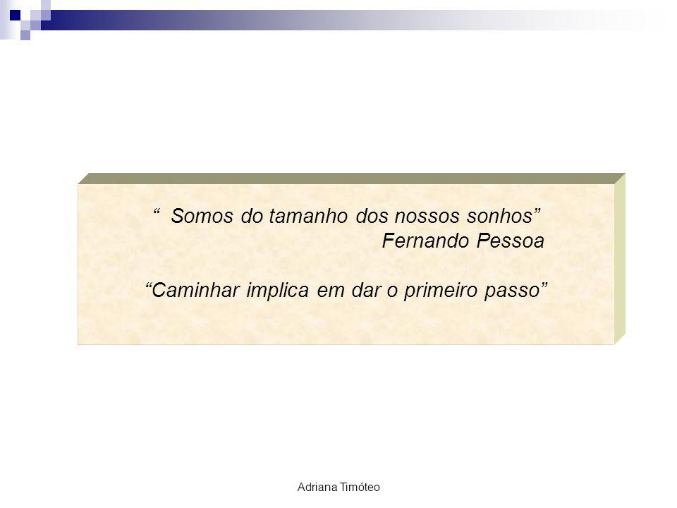 Somos do tamanho dos nossos sonhos Fernando Pessoa