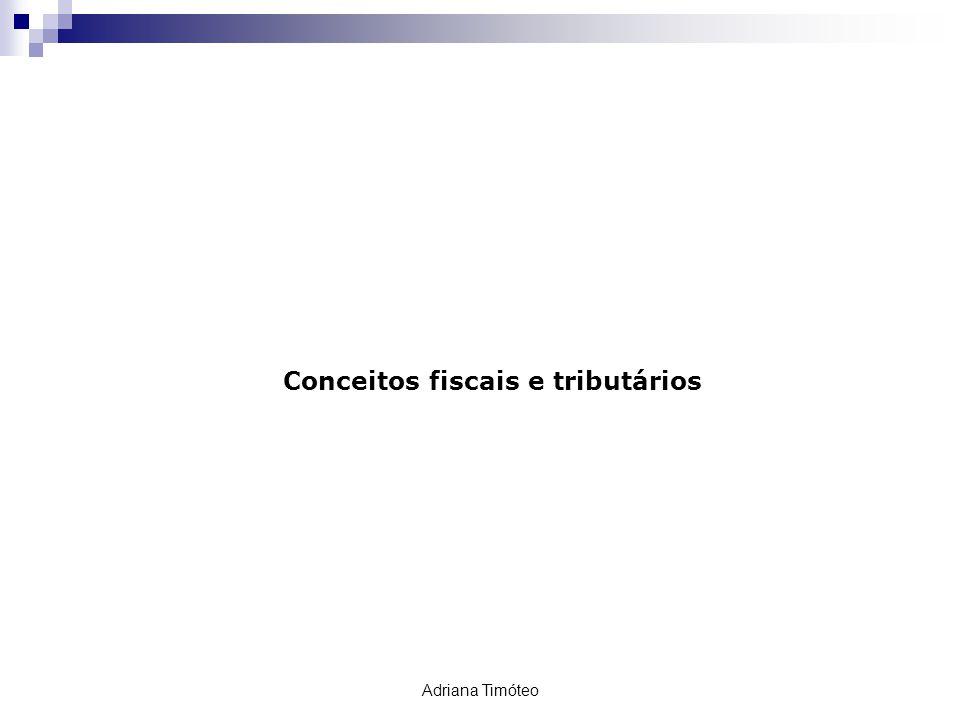 Conceitos fiscais e tributários