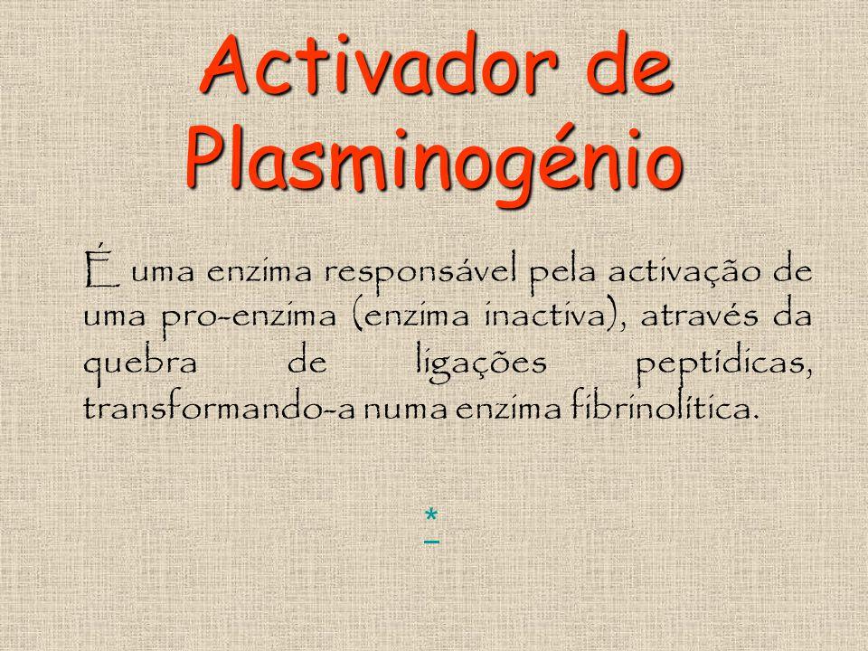 Activador de Plasminogénio