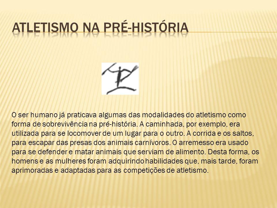 Atletismo na Pré-História