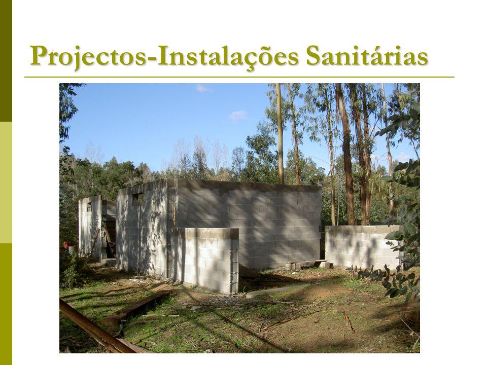 Projectos-Instalações Sanitárias