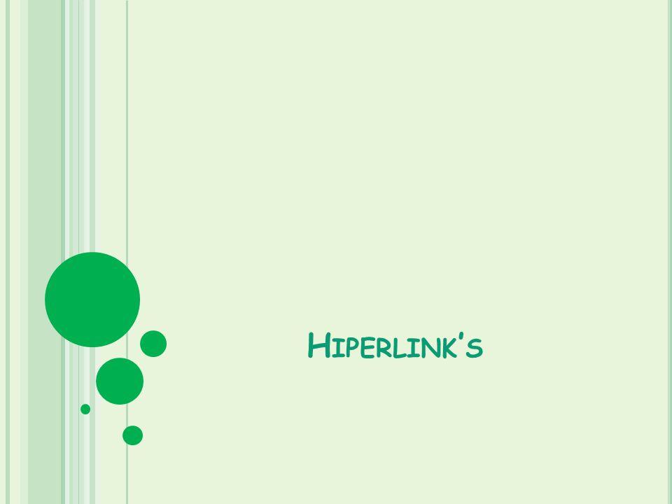 Hiperlink's