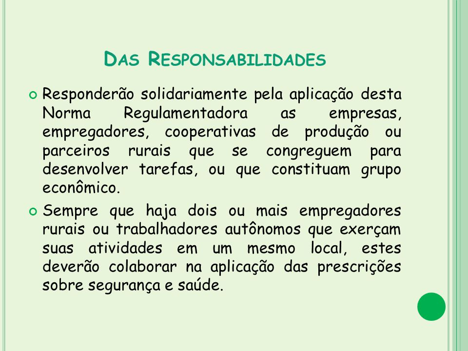 Das Responsabilidades