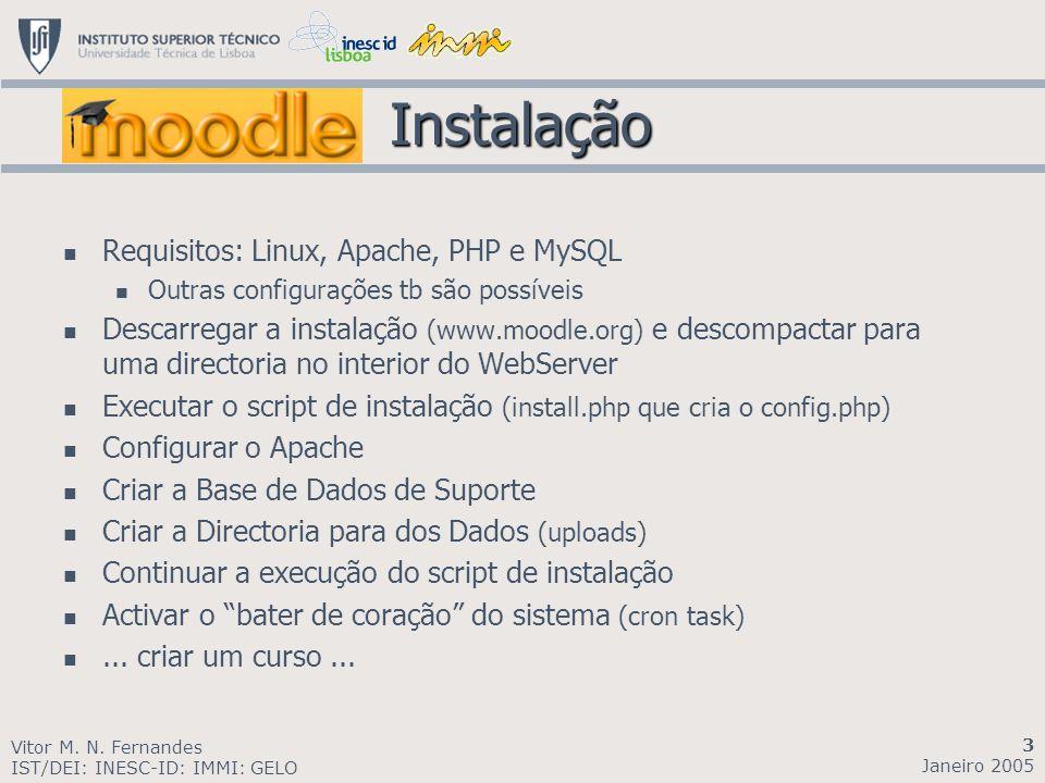 Instalação Requisitos: Linux, Apache, PHP e MySQL