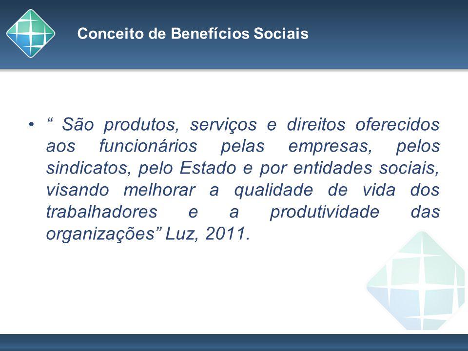 Conceito de Benefícios Sociais