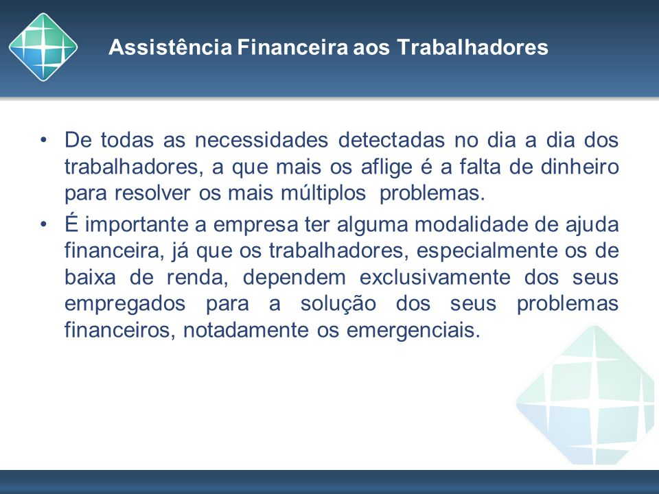 Assistência Financeira aos Trabalhadores