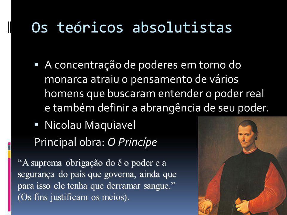 Os teóricos absolutistas