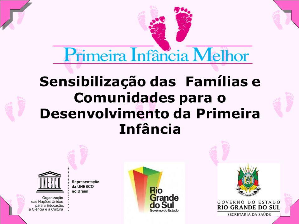 Sensibilização das Famílias e Comunidades para o Desenvolvimento da Primeira Infância