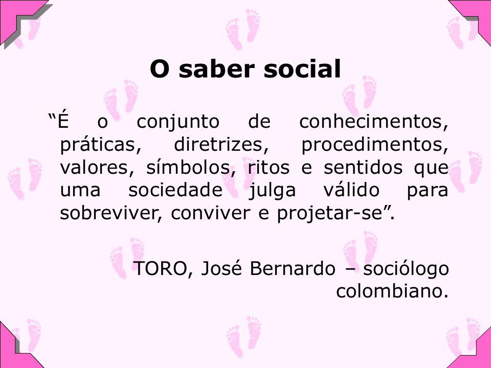 O saber social