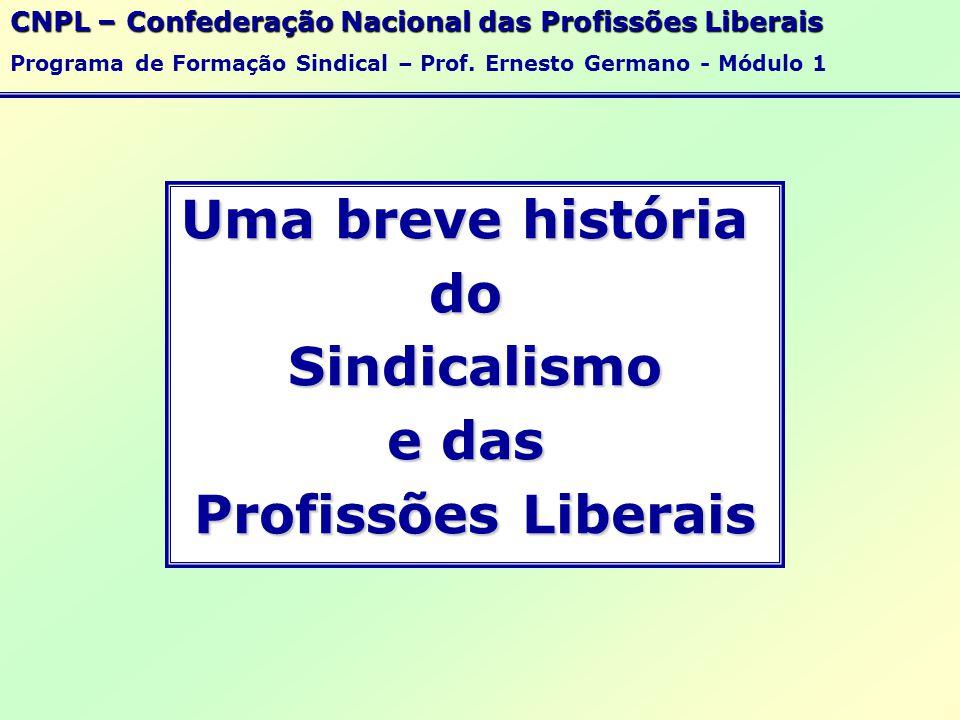 Uma breve história do Sindicalismo e das Profissões Liberais