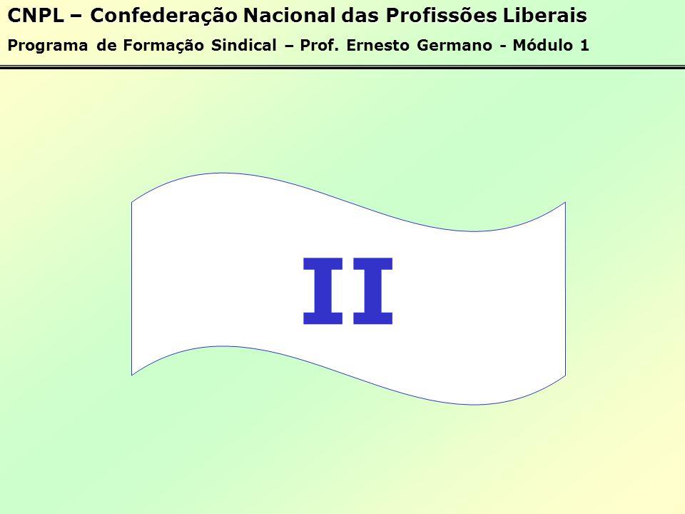 II CNPL – Confederação Nacional das Profissões Liberais