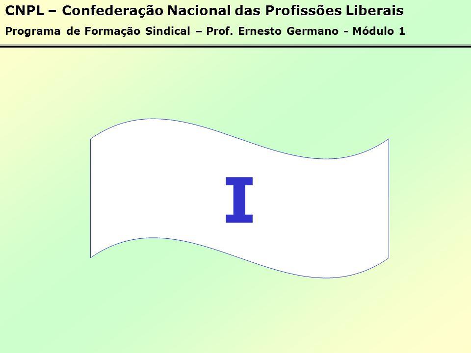 I CNPL – Confederação Nacional das Profissões Liberais