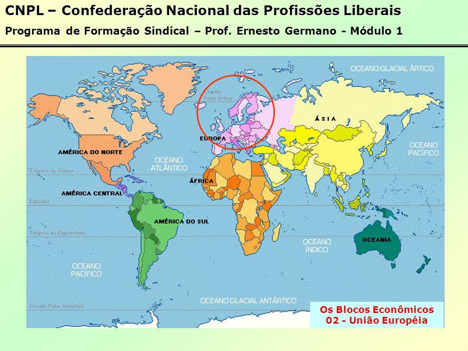 Os Blocos Econômicos 02 - União Européia
