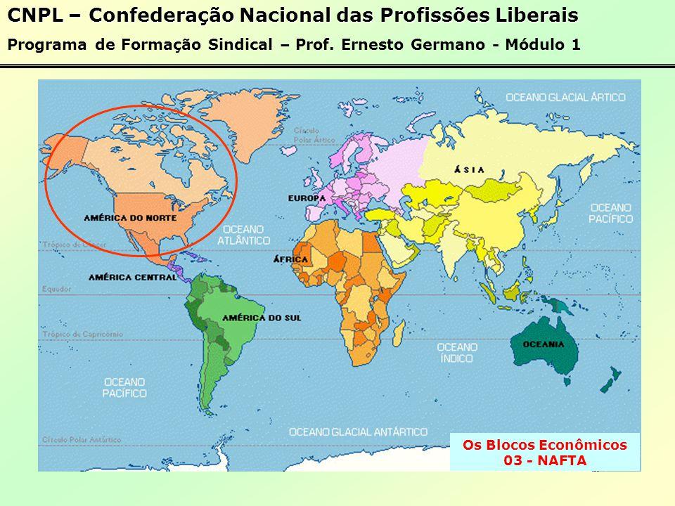 Os Blocos Econômicos 03 - NAFTA