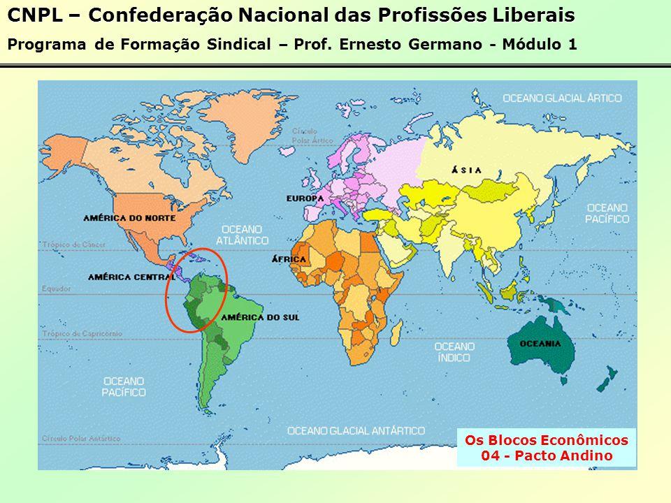 Os Blocos Econômicos 04 - Pacto Andino